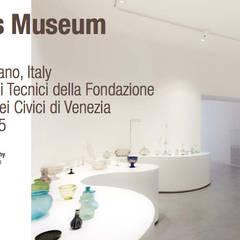 Pavimento ARCHITOP® - Glass Museum Murano: Museos de estilo  de Fermox Solutions