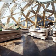 Suelos ACIS STAIN - Expo Milan: Palacios de congresos de estilo  de Fermox Solutions