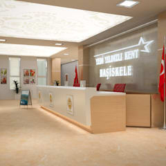 Corridor & hallway by PASART DESİGN, Modern Wood-Plastic Composite
