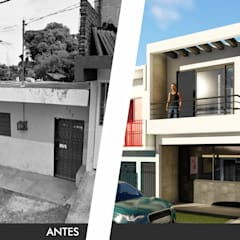 Дома на одну семью в . Автор – IAD Arqutiectura, Минимализм