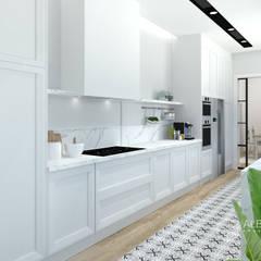 آشپزخانه by Alberto Navarro Arquitectura Interior