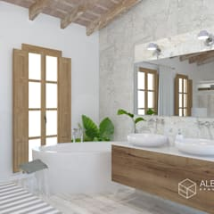 Bathroom by Alberto Navarro Arquitectura Interior