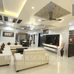 ห้องนั่งเล่น by KAM'S DESIGNER ZONE