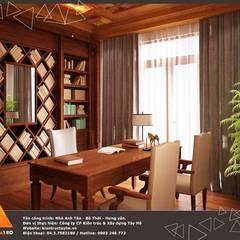 Biệt thự Bô Thời - Hưng Yên:  Phòng học/Văn phòng by KIẾN TRÚC TÂY HỒ