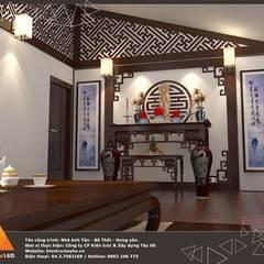 Phòng thờ:  Phòng học/Văn phòng by KIẾN TRÚC TÂY HỒ