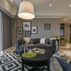 櫥窗。飾:  客廳 by 存果空間設計有限公司