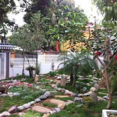 Cần tư vấn không gian sân vườn 220m2 ở Sơn La Vườn phong cách nhiệt đới bởi Linh Pham - homify Nhiệt đới