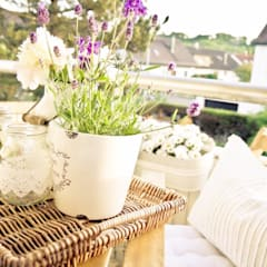 Balkon – ein Stück Freiheit:  Terrasse von vierwandglück GmbH