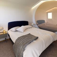Kamar tidur kecil by MIA arquitetos