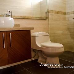 CASA CANELON: Baños de estilo  por DG ARQUITECTURA COLOMBIA