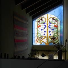 Salon de style  par Dario Basaldella Arquitectura, Moderne