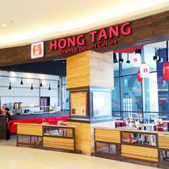 HONG TANG Baywalk Mall Pluit:  Ruang Makan by Evonil Architecture
