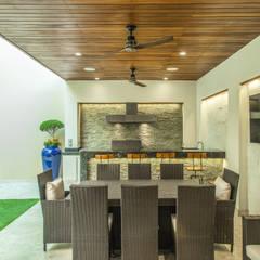 Área Exterior GGM: Terrazas de estilo  por S2 Arquitectos