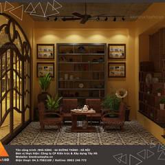 Khu vực chờ view 3:  Phòng ăn by KIẾN TRÚC TÂY HỒ