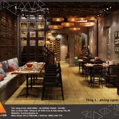 Tầng 1 - Phòng ngoài:  Phòng ăn by KIẾN TRÚC TÂY HỒ