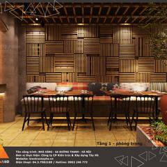 Tầng 1 - Phòng trong:  Phòng ăn by KIẾN TRÚC TÂY HỒ