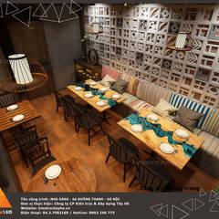 Tầng 1 - Phòng trong view 3:  Phòng ăn by KIẾN TRÚC TÂY HỒ