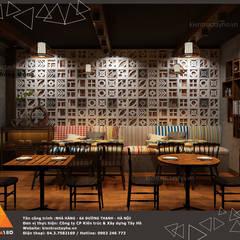 Tầng 1 - Phòng trong view 4:  Phòng ăn by KIẾN TRÚC TÂY HỒ