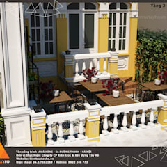Nhà hàng Bà Tôi - 6A - Đường Thành, Hoàn Kiếm, Hà Nội:  Phòng ăn by KIẾN TRÚC TÂY HỒ