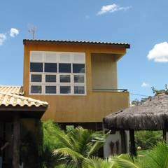 JMN arquitetura:  tarz Bitişik ev