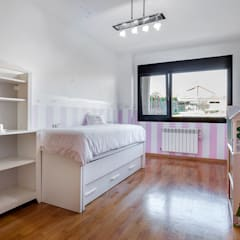 Home Staging en la casa de Paula en Galicia: Dormitorios infantiles de estilo  de CCVO Design and Staging