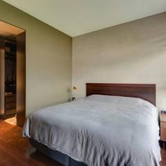 غرفة نوم تنفيذ 齊禾設計有限公司,