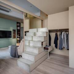 غرفة الملابس تنفيذ 齊禾設計有限公司,