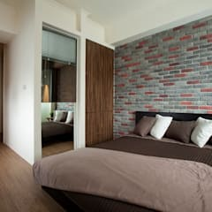 Bedroom by 齊禾設計有限公司