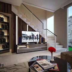 Mrs. Lenny Private Residential:  Ruang Keluarga by PT Kreasi Cemerlang Abadi