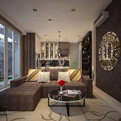 Mrs. Lenny Private Residential: Ruang Keluarga oleh PT Kreasi Cemerlang Abadi,