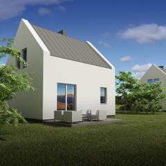 EcoMini: styl , w kategorii Dom pasywny zaprojektowany przez Plug Studio