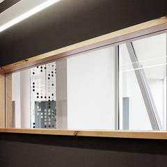 Café h_da:  Fenster von whythefriday Löbbert + Jung GbR