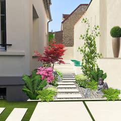 Garden by Sophie coulon - Architecte Paysagiste, Eclectic