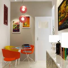 Area duduk:  Koridor dan lorong by AIRE INTERIOR