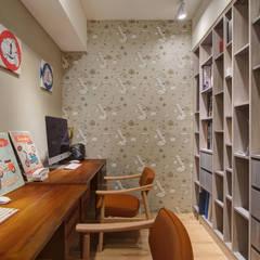 scandinavian Study/office by 哲嘉室內規劃設計有限公司