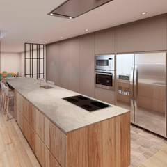 Reforma cocina B&C: Cocinas de estilo  de Cáliz Vázquez Arquitectura e Interiorismo
