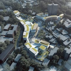 Andy Wen of Aedas-designed Taipei European School Yangmingshan Campus Redevelopment breaks ground:  Schools by Architecture by Aedas, Modern