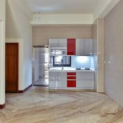modern Living room by 讚基營造有限公司