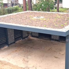 Carport door Steelmanufaktur Beyer