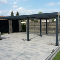 Carport by Steelmanufaktur Beyer, Modern Metal