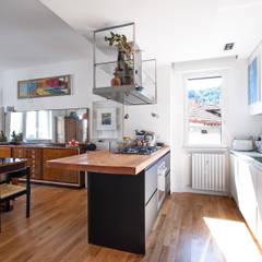 eclectic Kitchen by Chantal Forzatti architetto
