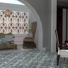 VIVIENDA UNIFAMILIAR : Dormitorios de estilo  de MTD studio and design