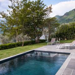 Chantal Forzatti architettoが手掛けた家庭用プール