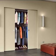 Schuifdeursysteem Absolute Energy Doppio:  Hotels door BestFix-Schuifdeursystemen