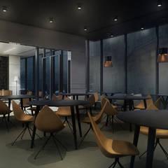 Projekt koncepcyjny wnętrz hotelu GRAND ASCOT w Krakowie.: styl , w kategorii Hotele zaprojektowany przez SUMA Architektów