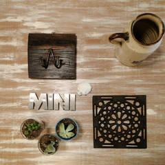 Diseño de Vidrieras SUNO Restore & Design: Galerías y espacios comerciales de estilo  por Proyecto Menos es Más
