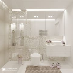 Bathroom by Ludwinowska Studio Architektury, Eclectic