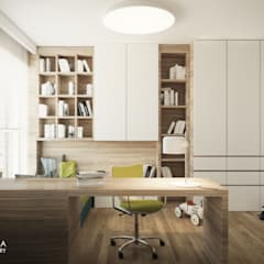 MAKALU: styl , w kategorii Pokój dziecięcy zaprojektowany przez Ludwinowska Studio Architektury