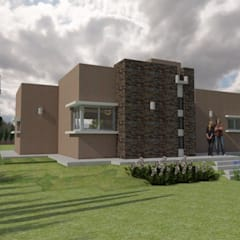 Vivienda MB: Casas de estilo  por Gastón Blanco Arquitecto