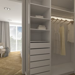 Dressing room by KUKA Concept Studio